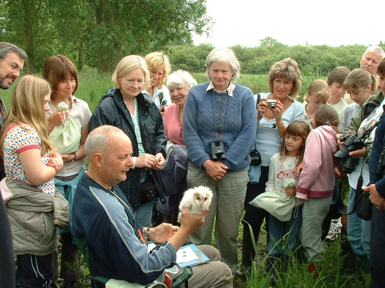 Barn Owl Ringing Event 23 06 07