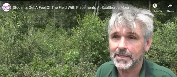 Nigel Middleton - Sculthorpe Moor Conservation Officer